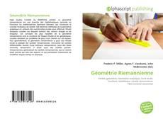 Capa do livro de Géométrie Riemannienne