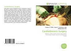 Capa do livro de Cardiothoracic Surgery