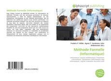 Capa do livro de Méthode Formelle (Informatique)