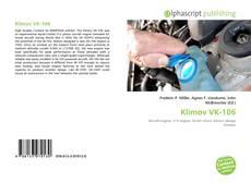 Capa do livro de Klimov VK-106