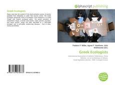 Greek Ecologists kitap kapağı
