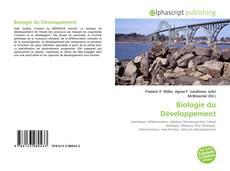 Biologie du Développement的封面