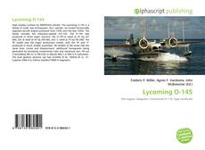 Bookcover of Lycoming O-145