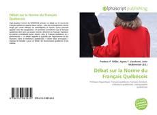 Capa do livro de Débat sur la Norme du Français Québécois