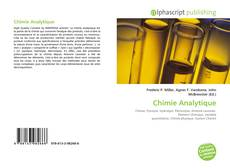 Copertina di Chimie Analytique