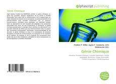 Обложка Génie Chimique