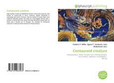 Bookcover of Centauroid creature