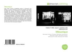 Bookcover of Mécanique