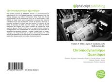 Chromodynamique Quantique kitap kapağı