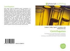 Bookcover of Centrifugation