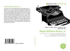 Buchcover von Roger Williams Straus, Jr.