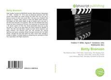 Portada del libro de Betty Bronson