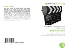 Bookcover of Esther Ralston