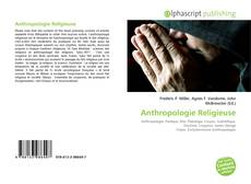 Buchcover von Anthropologie Religieuse