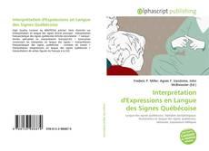 Bookcover of Interprétation d'Expressions en Langue des Signes Québécoise