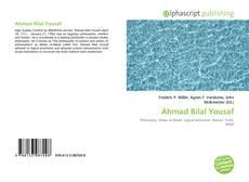 Bookcover of Ahmad Bilal Yousaf
