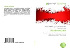Bookcover of Death erection