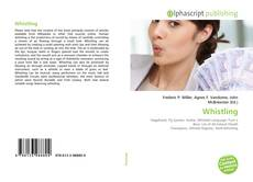 Whistling kitap kapağı