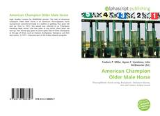 Bookcover of American Champion Older Male Horse