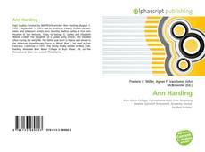Bookcover of Ann Harding
