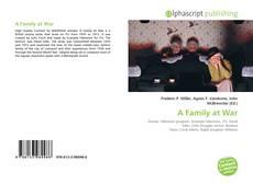 Couverture de A Family at War