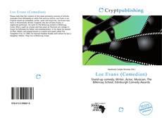 Lee Evans (Comedian)的封面