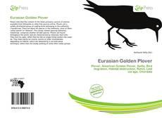 Eurasian Golden Plover kitap kapağı