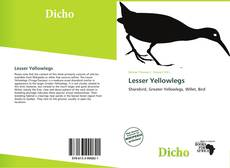 Bookcover of Lesser Yellowlegs