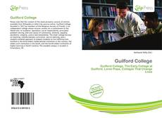 Bookcover of Guilford College
