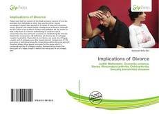 Bookcover of Implications of Divorce