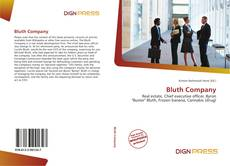 Bookcover of Bluth Company