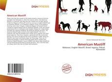 Bookcover of American Mastiff