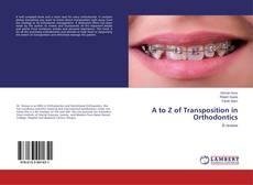 Buchcover von A to Z of Transposition in Orthodontics