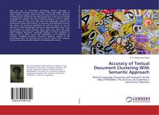 Buchcover von Accuracy of Textual Document Clustering With Semantic Approach