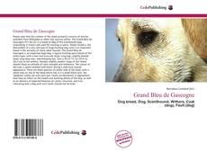Borítókép a  Grand Bleu de Gascogne - hoz