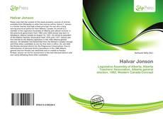 Buchcover von Halvar Jonson