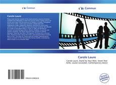 Carole Laure kitap kapağı