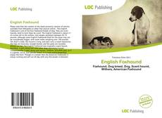 Bookcover of English Foxhound