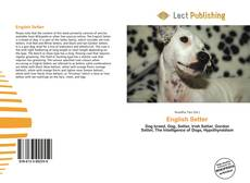 Bookcover of English Setter