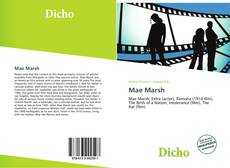Bookcover of Mae Marsh