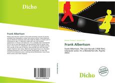 Bookcover of Frank Albertson
