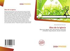 Bookcover of Álex de la Iglesia