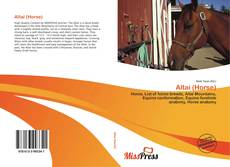 Bookcover of Altai (Horse)