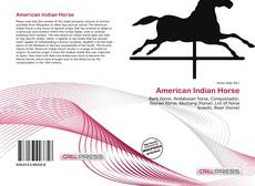 Bookcover of American Indian Horse