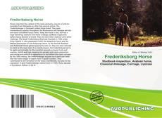 Bookcover of Frederiksborg Horse