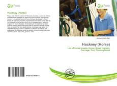 Portada del libro de Hackney (Horse)
