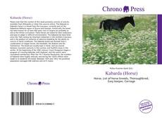 Bookcover of Kabarda (Horse)