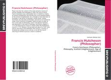 Bookcover of Francis Hutcheson (Philosopher)