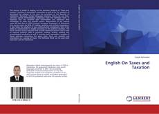 Bookcover of English On Taxes and Taxation