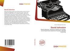 Couverture de David Johnston